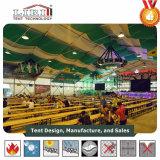 Grande première tente polygonale d'exposition de 40 x 50 bâtis avec le système de refroidissement à vendre