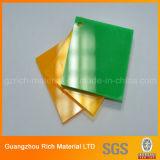 Colorear la hoja de acrílico plástica del plexiglás del plexiglás de la hoja PMMA