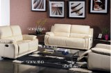 Sofá de combinação de sala e quarto de cor branca