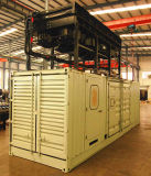 Googol 50Hz 2 연료 디젤 엔진 가스 2000kw 발전기 세트