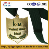 Medaglia d'imitazione in lega di zinco di onore dello smalto di alta qualità personalizzata rifornimento per la High School