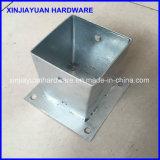 Qualitäts-Metallbodenpole-Grundplatte mit Schraube 91X91X150mm
