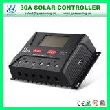 太陽系(QW-SR-HP2430A)のためのPWM 30A 12/24Vの太陽コントローラ