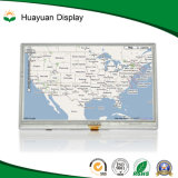 4.3 Pixel de pouce 480X272 avec l'étalage de TFT LCD de la surface adjacente Ili6480bq de RVB