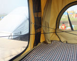 Солнечный handcranked шатер верхней части крыши для напольной зрелищности