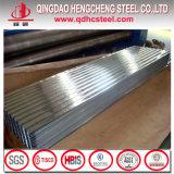 Folha de metal corrugado Galvalume SGCC para coberturas