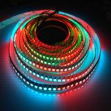 Programmeerbare RGB LEIDENE Ws2801/Ws2811/Ws2812b/Ws2813 van de Kleur SMD5050 van de Droom Strook