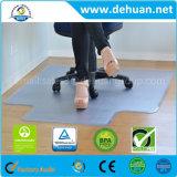 """椅子のマット、PVCの40 """" X 48 """"の絨毯を敷いた床の保護装置、低速または、散りばめられる明確な、媒体の山長方形"""