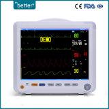 Equipo médico del Monitor de paciente parámetros múltiples portátiles 8000b
