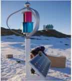 Progetto della Norvegia: sistema verticale di fuori-Griglia del generatore di turbina del vento 600W
