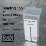 공구 - No. 18 구슬로 장식 - 100PCS - 다이아몬드 설정 툴