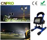 10W 3600mAh nachladbares LED Flut-Licht im Freien helles Witih Cer, EMC, LVD, RoHS
