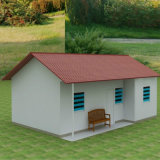 현대 작풍 빛 강철 구조물 Prefabricated 집 (KXD-116)