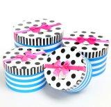 Cadre de papier rond à la mode et respectueux de l'environnement de type neuf de couleur d'impression de mémoire pour la petite collection de cadeau
