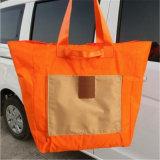 Bewegliches faltendes Einkaufstasche-große Kapazitäts-einzelnes Schulter-Beutel-Einkaufstasche-Korea-Arbeitsweg-Paket-Paket (GB#RK)