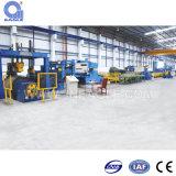 Galvanized froid/Chaud-roulé Steel Cut à Length Line