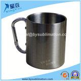 чашка кружки перемещения металла 220ml взбираясь