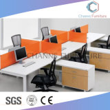 Sitio de trabajo recto de la oficina de los asientos de la persona de la manera 6