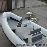 Barco luxuoso do reforço dos barcos da velocidade rápida de Liya 7.5m com motor