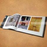 Печатание кассеты каталога книги картона книжного производства съемки книжного производства книга в твердой обложке