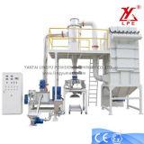 400-500kg/H粉のコーティングのドラムクーラーの冷却ベルト