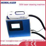 24/7 de máquina industrial da limpeza do laser da fibra do uso 50W da operação para Decoating