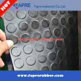 Настил циновки картины монетки (круглого стержня) резиновый для мастерской и автомобиля