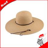 Chapéu flexível do verão da palha de Sun