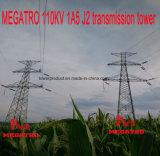 Torretta della trasmissione di Megatro 110kv 1A5 J2
