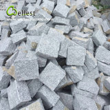 Pietra per lastricati di alta qualità del cubo nero di superficie naturale all'ingrosso del granito