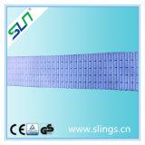 tipo 5:1 del doppio occhio del poliestere di 4t*8m di fattore di sicurezza dell'imbracatura della tessitura