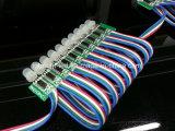 indicatore luminoso del punto del pixel di colore completo LED di 12mm Digitahi RGB (programmabile)