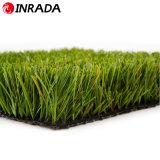 Grama natural do toque confortável para o tapete artificial barato decorativo da grama