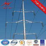 11м оцинкованной стали для передачи электроэнергии полюс