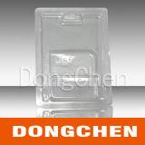 Дешевая ясная косметическая коробка волдыря PVC любимчика