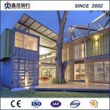 Het elegante WoonHuis van de Verschepende Container als Modulair Hotel