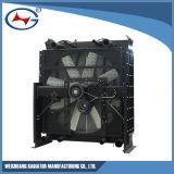 Radiador de aluminio para el conjunto de generador diesel -12m33D1210e200-2