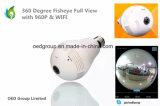 Ресторан Фишай 360 градусов угол просмотра в полном объеме 1,3 мини-WiFi камера с двумя аудио 3D полный просмотр