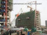 Bomba de concreto Hongda 28m com boom
