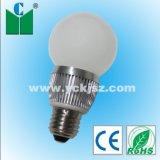 CREE de alta potência da lâmpada LED E27 4W com marcação, RoHS, certificados de PSE