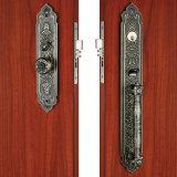 Serrature di portello in lega di zinco di Handlesets dell'entrata di alta obbligazione in grande piatto per la villa ed i portelli esterni