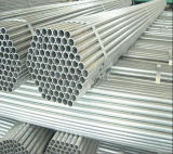Impalcatura d'acciaio Pipe/48.3mm di HDG Pre-Galvanizzata intorno al tubo d'acciaio