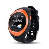Alarme falh dos relógios espertos de Smartwatch SOS GPS o anti encontra o telecontrole