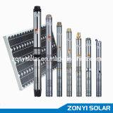 0.75-1-1.25-1.5-2-3-4Solar Submersible Pump (solar DC pump)