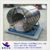 Sialスチール製造のための低価格の/Sialの合金ワイヤーが付いている合金によって芯を取られるワイヤーエクスポート