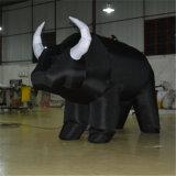 Produto insufláveis personalizados grandes touro inflável