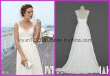 La protezione chiffona bianca in rilievo elegante calda 2012 collega i vestiti con un manicotto da cerimonia nuziale nuziali (stile WG3261)