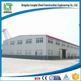 Costruzione della struttura d'acciaio per il workshop