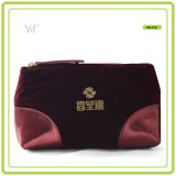 Sublimation de la mode promotionnelle Hot Selling OEM Velvet Ladies Cosmetic Bag