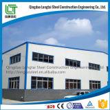 Costruzione della struttura d'acciaio per la fabbrica